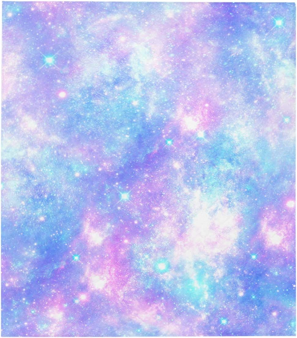 Large discharge sale WIEDLKL Couch Quilt Popular brand Throws Unicorn Print Universe Galaxy Microfi