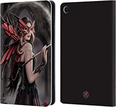 Official Anne Stokes Spellbound Dragon Friendship Leather Book Wallet Case Cover Compatible for Xiaomi Mi Pad 4 Plus