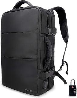 Evoon リュック メンズ ビジネスリュック バックパック リュックサック 大容量 旅行バック 防水 ビジネス 多機能 撥水加工 USB 盗難防止 人気 15.6インチ