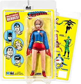 DC Comics 8 Inch Action Figures with Retro Cards: Supergirl [Cloth Print]