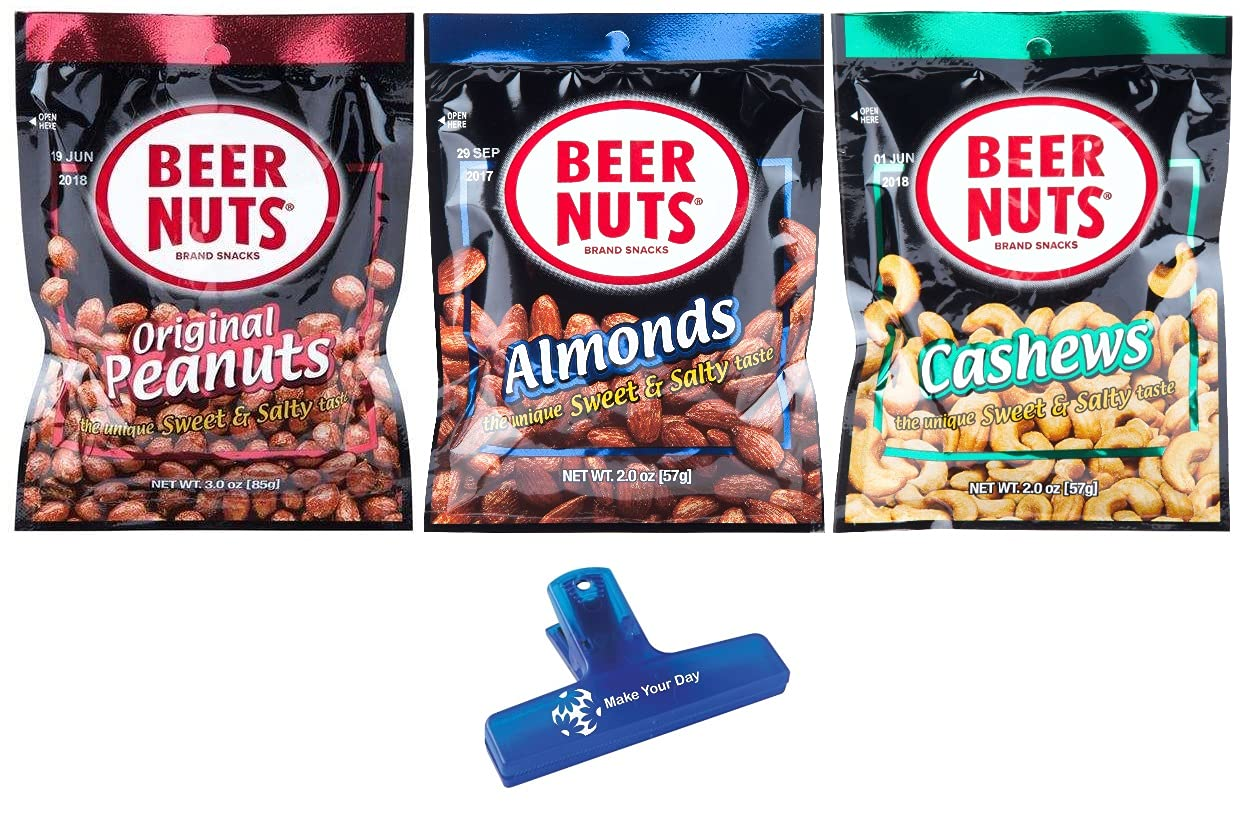 BEER NUTS Sacramento Mall Original Peanuts Sale SALE% OFF Almonds 2 Pack Ounce and Cashews