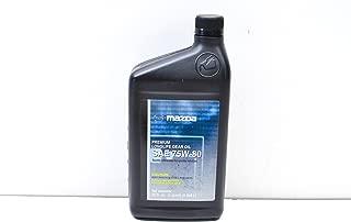 Mazda 0000-77-5W80-QT SAE 75W-80 Premium Long Life Gear Oil 1 Quart Bottle
