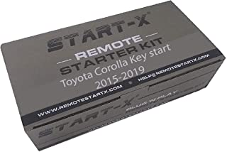 $189 » Start-X Remote Starter for Toyota Corolla 2014-2019 Key Start || Plug N Play