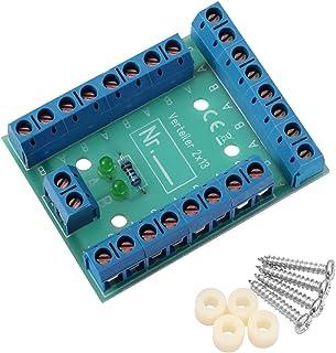 Edelstahlmarkenshop Stromverteiler Verteiler V 2x13 kontroll LED incl. Montagematerial 8A belastbar V 2x13