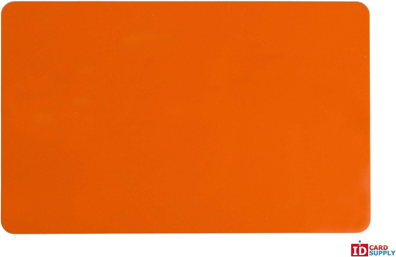 Orange CR80 Standard Größe PVC Cards   30 mil Thickness by easyIDea by easyIDea B00PKXO3RS | Treten Sie ein in die Welt der Spielzeuge und finden Sie eine Quelle des Glücks