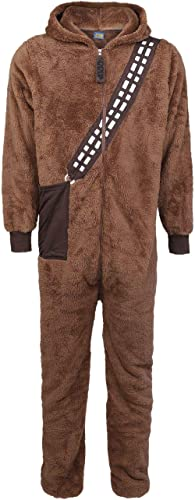 Star Wars Chewbacca Homme Combinaison Marron, 100% Polyester, Confortable