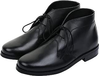 Men's Modern Classic Calfskin Leather Chukka Boots