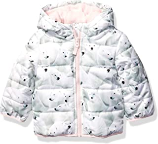 Carter's Baby Girls Fleece Lined Puffer Jacket Coat