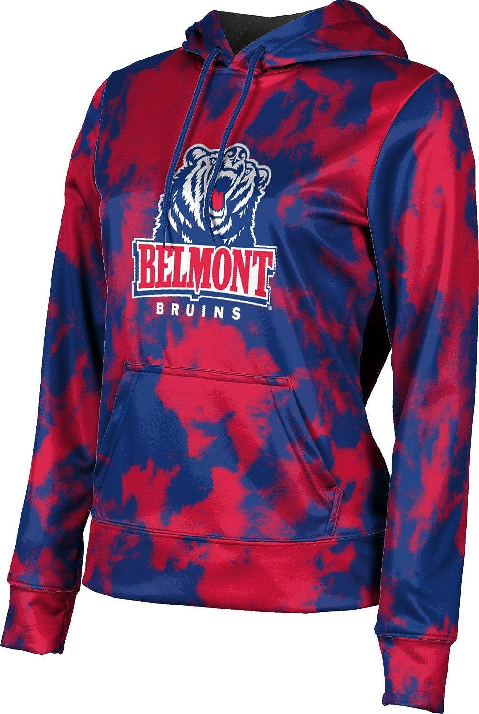 ProSphere Belmont University Girls' Pullover Hoodie, School Spirit Sweatshirt (Grunge)