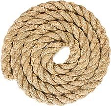 Twisted Manila Hemp Rope (1.5 Inch x 10 Feet)