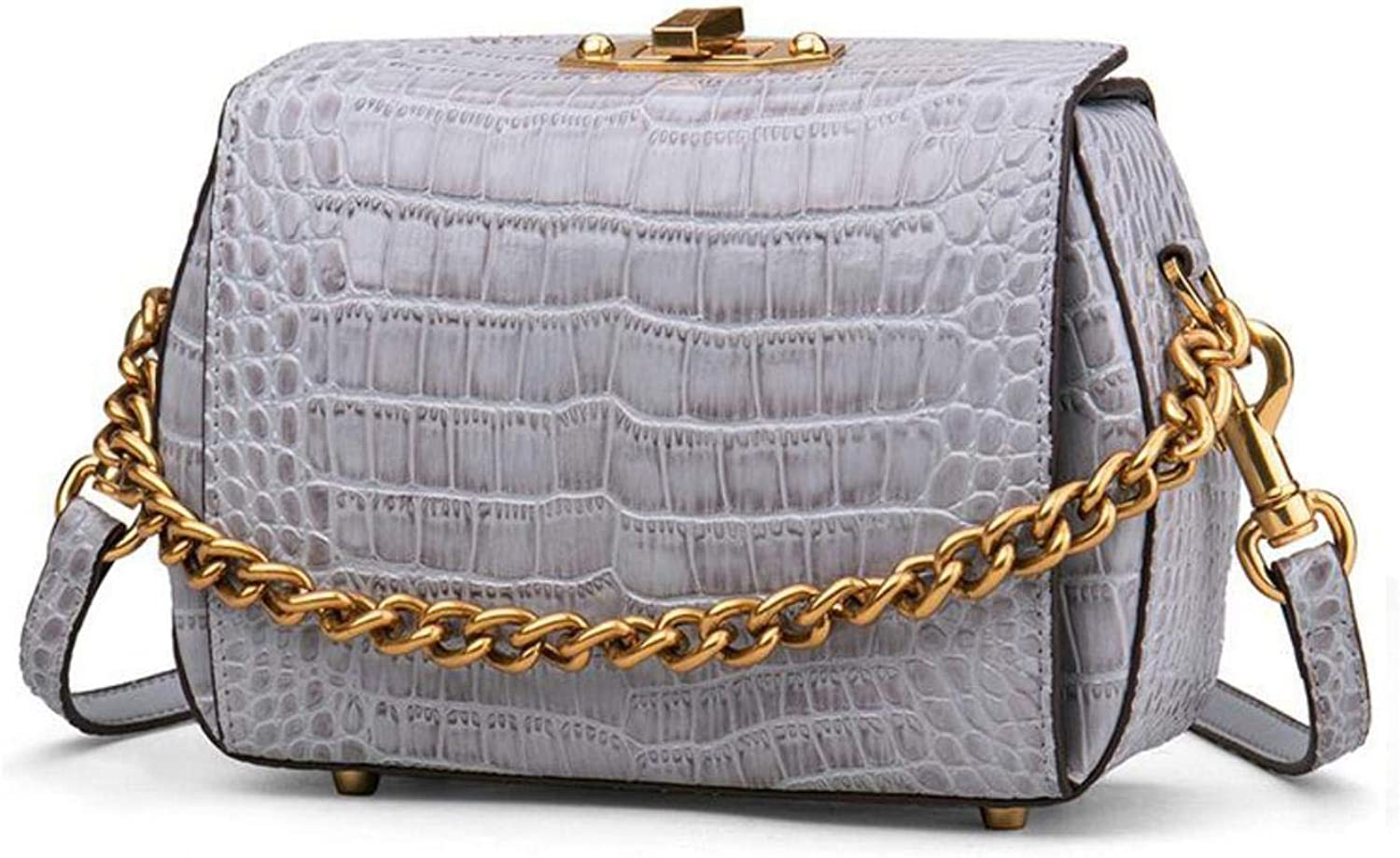 Genuine Leather Crossbody Chain Shoulder Bags