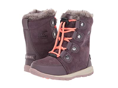 SOREL Kids Whitneytm Suede (Toddler/Little Kid) (Purple Sage) Girls Shoes