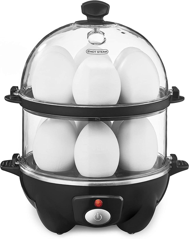 BELLA Double Tier Egg Cooker Mea Rapid Poacher Outlet ☆ Free Shipping Cheap mail order shopping Boiler Maker