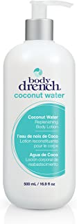 Body Drench Coconut Water Replenishing Body Lotion for All Skin Types, 16.9 Fl Oz