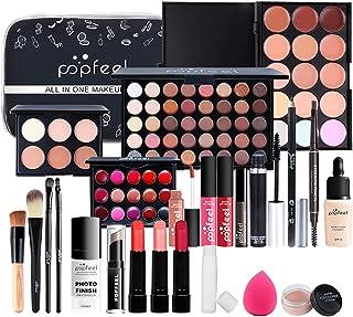 FantasyDay 25 Piece Pro Makeup Gift Set Makeup Bundle Essential Starter Beauty Cosmetic Kit Includes 40 Eyeshadow Palette,...