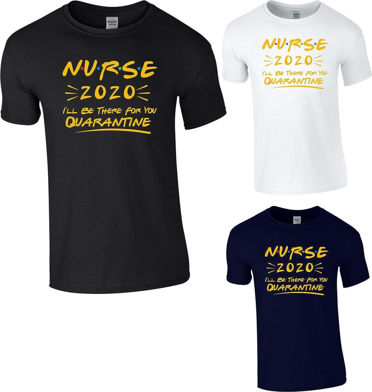 Camiseta StitchPrint para enfermera Quarantine 2020 ...