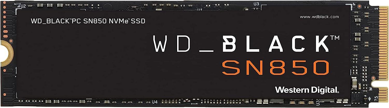 WD BLACK SN850 M.2 NVME SSD