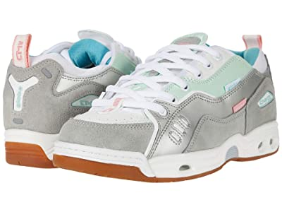 Globe CT-IV Classic (White/Silver/Mint) Skate Shoes