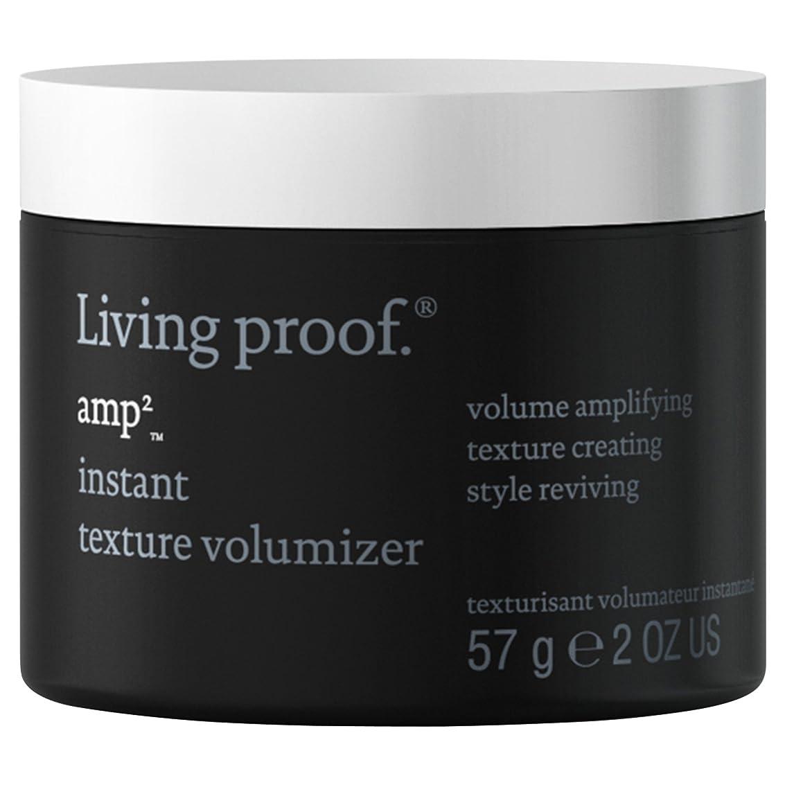 破壊的セールスマン寛大な生きている証拠アンペアインスタントテクスチャVolumiserの57グラム (Living Proof) (x6) - Living Proof Amp Instant Texture Volumiser 57g (Pack of 6) [並行輸入品]