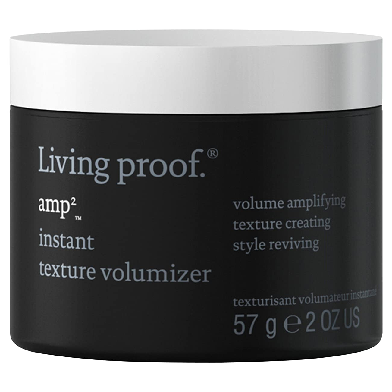 エゴマニア省略する倒産生きている証拠アンペアインスタントテクスチャVolumiserの57グラム (Living Proof) (x2) - Living Proof Amp Instant Texture Volumiser 57g (Pack of 2) [並行輸入品]