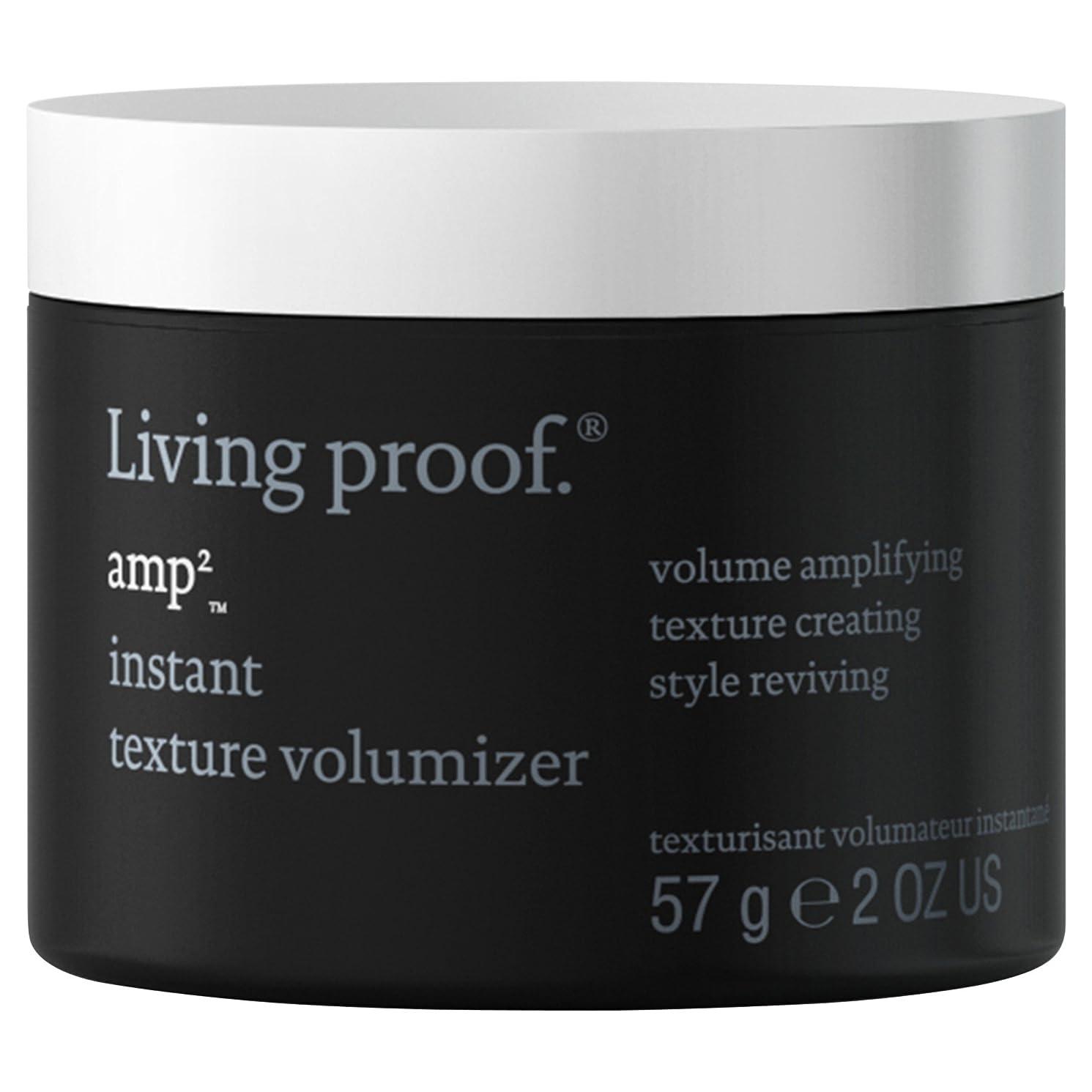 ずんぐりした台無しにピーブ生きている証拠アンペアインスタントテクスチャVolumiserの57グラム (Living Proof) - Living Proof Amp Instant Texture Volumiser 57g [並行輸入品]