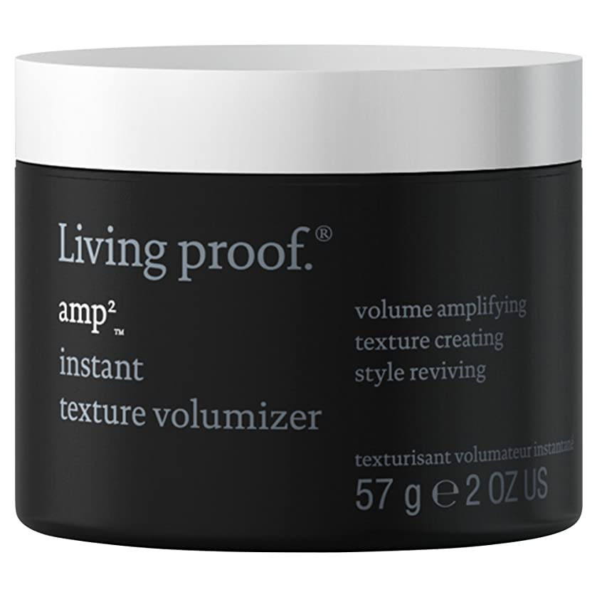 恩赦サンダー別れる生きている証拠アンペアインスタントテクスチャVolumiserの57グラム (Living Proof) (x6) - Living Proof Amp Instant Texture Volumiser 57g (Pack of 6) [並行輸入品]
