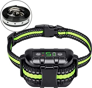 Flittor Bark Collar, No Bark Collar Rechargeable with Beep, Anti bark Collar with Adjustable Sensitivity and Intensity Bee...