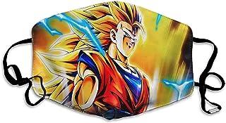 Dust Dra-Gon Ba-Ll Anime Goku Herbruikbaar, wasbaar, verstelbaar, stofdicht, geschikt voor tieners en dames