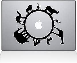 "The Decal Guru Animal Planet Macbook Decal Vinyl Sticker  - 15"" Macbook Pro (2015 & older) - Black (0193-MAC-15P-BLA)"