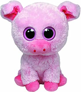 Ty Beanie Boos Buddies Corky The Pig
