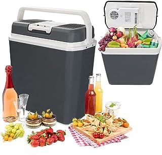 Hengda 24 litres Glacière Électrique Portable Mini Réfrigérateur Poignée de Transport Chaud/Froid [Classe énergétique A++]