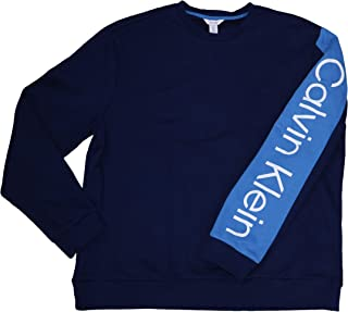 Calvin Klein Long Sleeve Logo Print Pullover Performance Sweatshirt