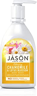 Jason, cosméticos naturales, jabón de manzanilla, 887 ml
