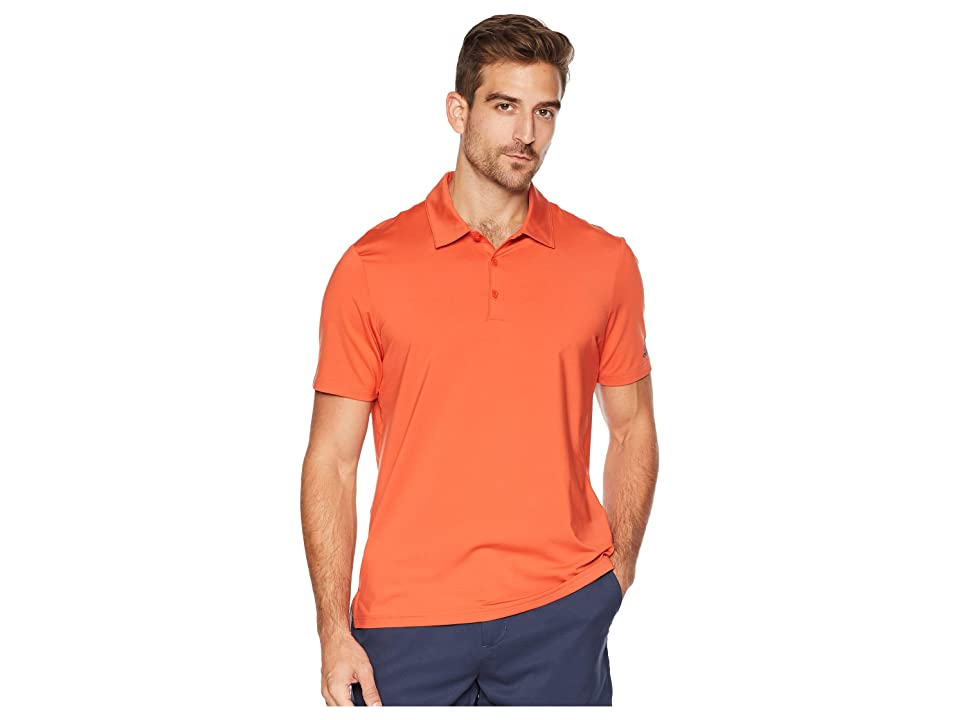 adidas Golf Ultimate Solid Polo (Raw Amber) Men