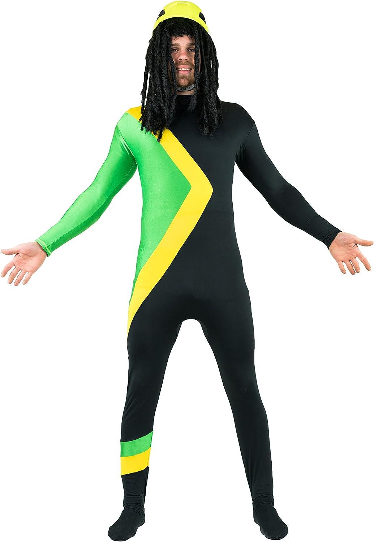 Bodysocks Jamaican Bobsleigh Cool Running's Fancy Cheap mail order sale sales Dress