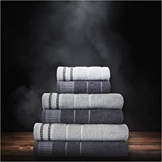 GC GAVENO CAVAILIA Premium 100% Combed Cotton Bath Sheets Set, Super Soft and Highly Absorbent Bathroom Towels, 2Pk Dalby ...