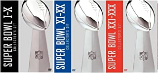 Super Bowl Football Collection I-XXX Collector's Set - 15-Disc Set