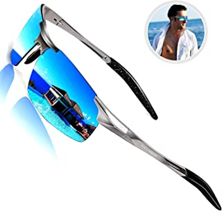 Driving Polarized Sunglasses for Men UV Protection Ultra...