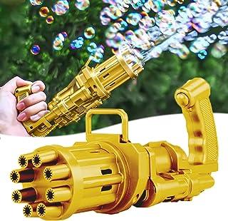 niyokki Gatling Bubble Machine Bubbles for Kids, Automatic Huge Bubble Guns for Boys&Girls, Parties Outdoor Toy Bubble Mak...