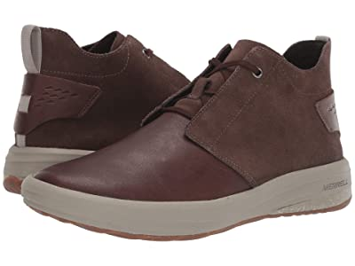 Merrell Gridway Mid Leather (Espresso) Men