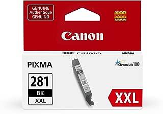 Canon CLI-281XXL Black Ink, Compatible to TS9120,TR8520,TR7520,TS8120,TS6120