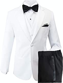 Big Boys' Modern Fit Tuxedo, No Tail