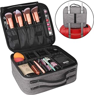 Best cosmetic travel bag with compartments Reviews