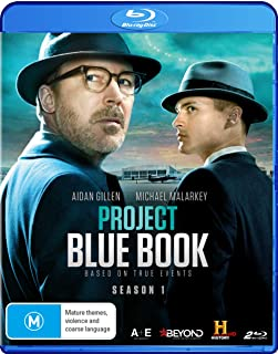Project Blue Book: Season 1 (2 Blu-Ray) [Edizione: Stati Uniti]