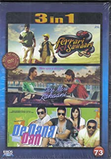 Ferrari Ki Sawaari / Teri Meri Kahaani / De Dana Dan 3 in 1 - 100% Orginal Without Subtittle