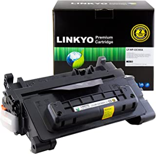 LINKYO Compatible Toner Cartridge Replacement for HP 90A CE390A (Black)