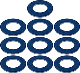Prime Ave Aluminum Oil Drain Plug Washer Gaskets For Toyota Lexus Scion Part#: 90430-12031 (Pack of 10)