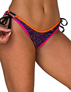 Wicked Weasel Sexy Jaguar Dreams - Cheeky Bikini Bottom (259) Womens Swimsuits Scrunch