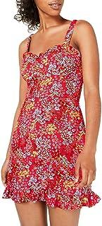 B Darlin New Women/'s Floral Bustier Robe Moulante TEDO