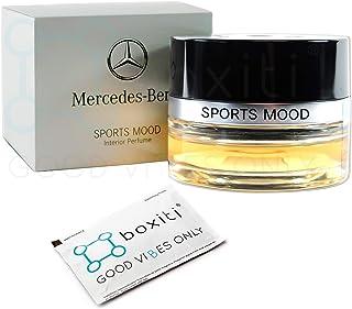 Boxiti Genuine Sports Mood Car Air Freshener - Interior Cabin Atomizer Fragrances for Mercedes C E GLC GLE CLS S Class, Su...